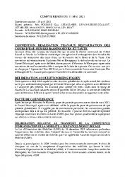 COMPTE RENDU DU 11 MAI 2021
